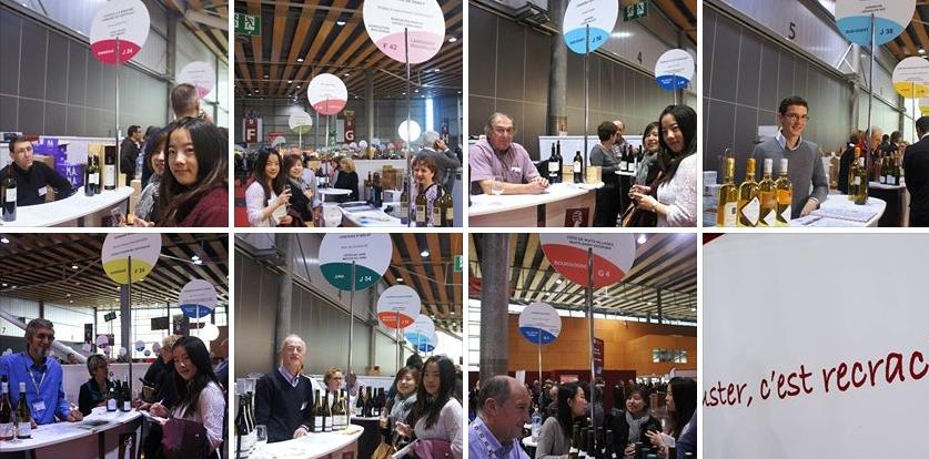 Ondes de Chine - reportage salon du vigneron 2013